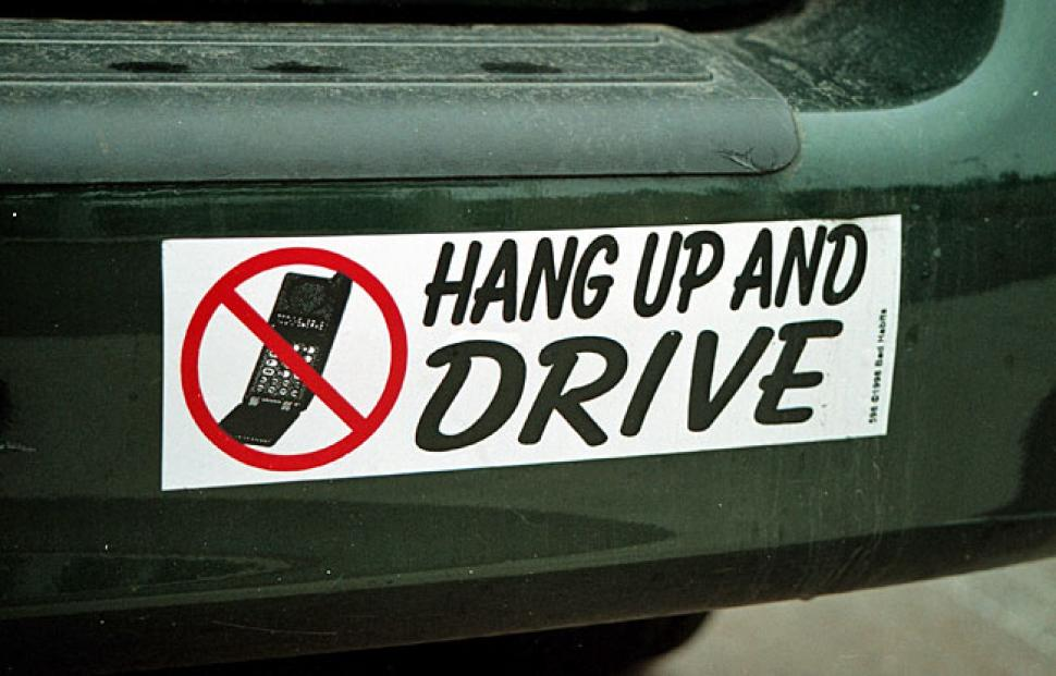 Resisting the temptation: drive distraction free in 2013