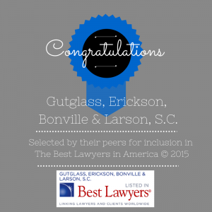 Milwaukee Best Lawyers 2015